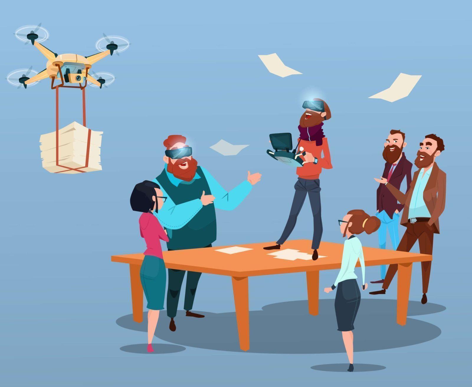 флэт инфографика Итшники стартапы стартаперы предприниматели ИТ