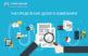 Распределение доли в компании бизнесе стартапе флэт дизайн